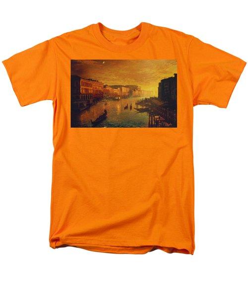 Venice From The Rialto Bridge Men's T-Shirt  (Regular Fit) by Blue Sky