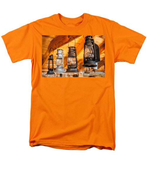 Vintage Oil Lanterns Men's T-Shirt  (Regular Fit) by Paul Freidlund