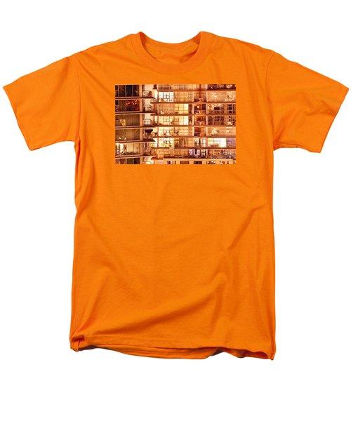 Men's T-Shirt  (Regular Fit) featuring the photograph Voyeuristic Pleasures Cdxci by Amyn Nasser