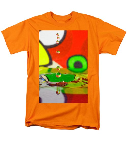 Men's T-Shirt  (Regular Fit) featuring the photograph Water Dew by Peter Lakomy