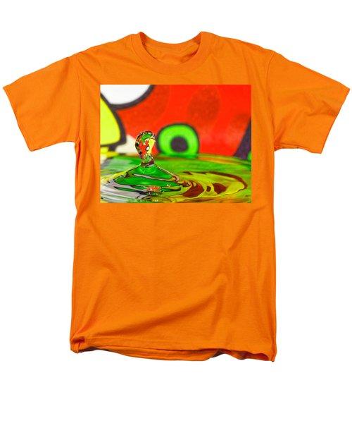 Men's T-Shirt  (Regular Fit) featuring the photograph Water Hill by Peter Lakomy