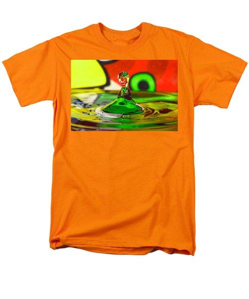 Men's T-Shirt  (Regular Fit) featuring the photograph Water Stick by Peter Lakomy