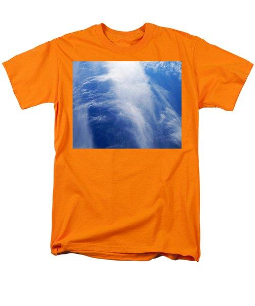 Waterfalls In The Sky Men's T-Shirt  (Regular Fit) by Belinda Lee
