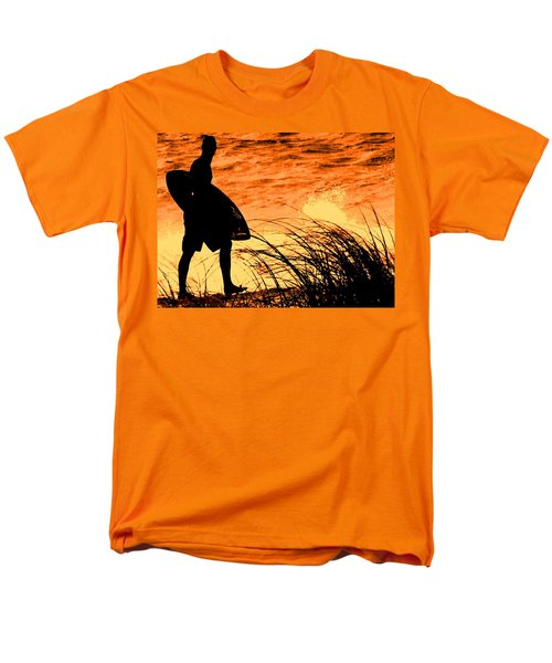 Men's T-Shirt  (Regular Fit) featuring the photograph Wave Search by Ian  MacDonald