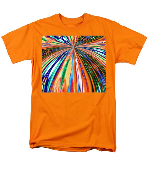 Where It All Began Abstract Men's T-Shirt  (Regular Fit)