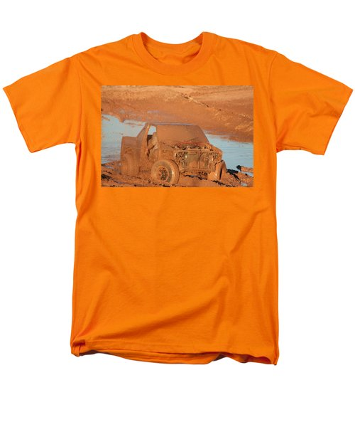 Which Way Men's T-Shirt  (Regular Fit) by David S Reynolds