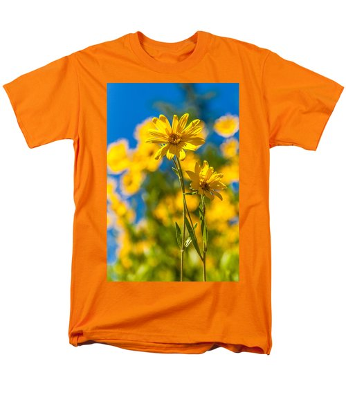 Wildflowers Standing Out Men's T-Shirt  (Regular Fit) by Chad Dutson