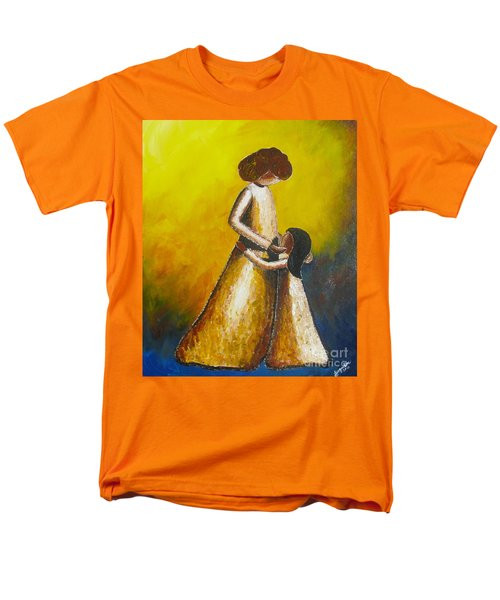 Men's T-Shirt  (Regular Fit) featuring the painting With Her by Jacqueline Athmann
