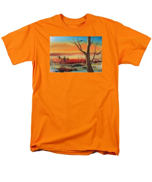 Withered Tree Men's T-Shirt  (Regular Fit) by Remegio Onia