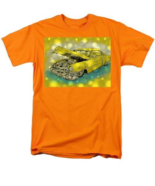 Yellow Cad Men's T-Shirt  (Regular Fit) by Debra Baldwin