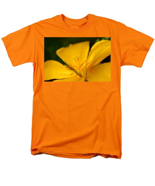 Men's T-Shirt  (Regular Fit) featuring the photograph Yellow by Greg Allore