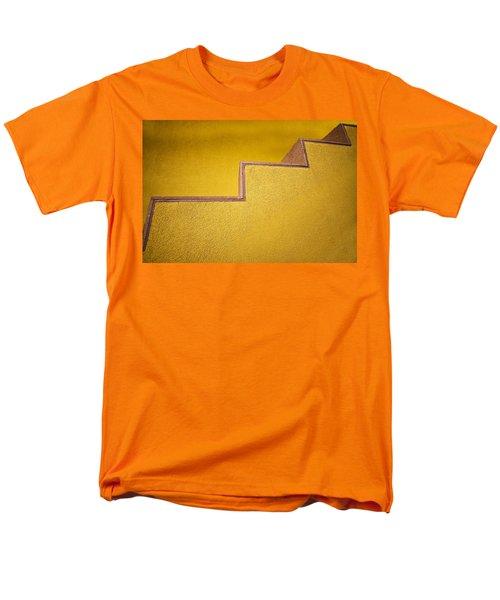 Yellow Steps Men's T-Shirt  (Regular Fit) by Melinda Ledsome