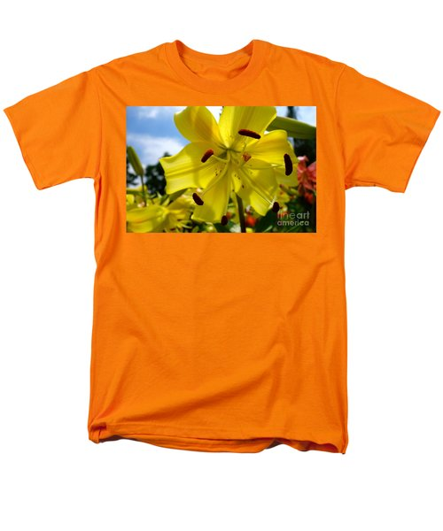 Yellow Whopper Lily 2 Men's T-Shirt  (Regular Fit) by Jacqueline Athmann