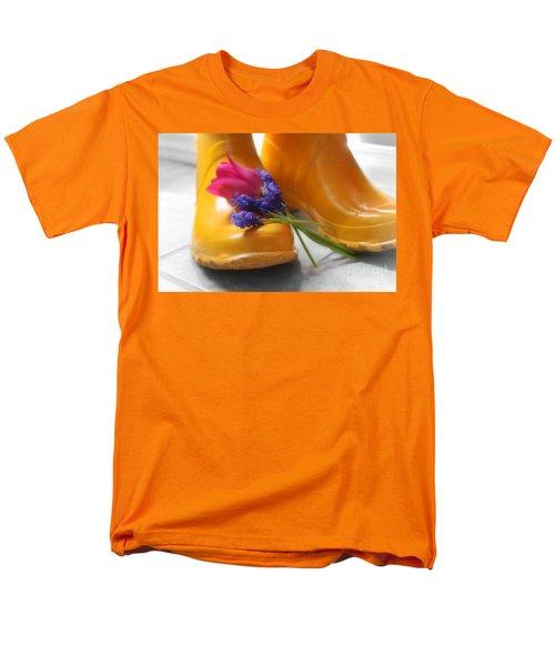Spring Boots Men's T-Shirt  (Regular Fit) by Cathy  Beharriell