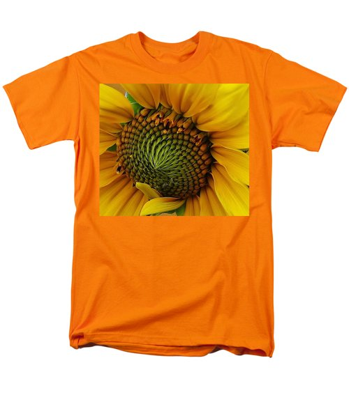 Men's T-Shirt  (Regular Fit) featuring the photograph Sunflower Close Up by Bruce Bley