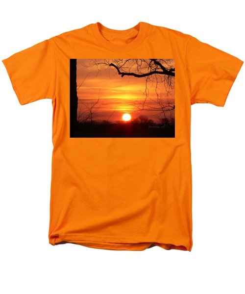 Men's T-Shirt  (Regular Fit) featuring the photograph Sunrise In Tennessee by EricaMaxine  Price