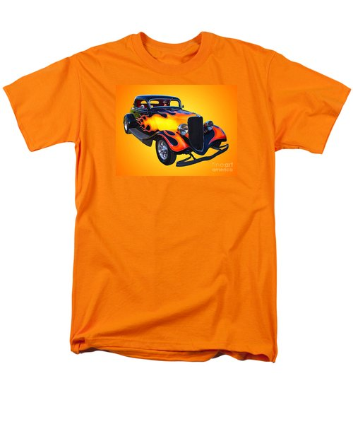 1934 Ford 3 Window Coupe Hotrod Men's T-Shirt  (Regular Fit) by Jim Carrell