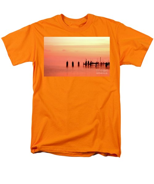 Men's T-Shirt  (Regular Fit) featuring the photograph Eery Morn by Clayton Bruster
