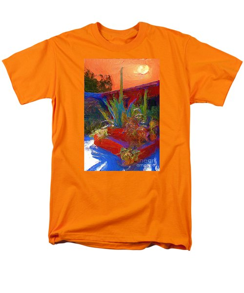 A Garden In Pozos Men's T-Shirt  (Regular Fit) by John  Kolenberg