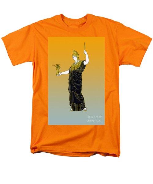 Athena, Greek Goddess Men's T-Shirt  (Regular Fit) by Photo Researchers