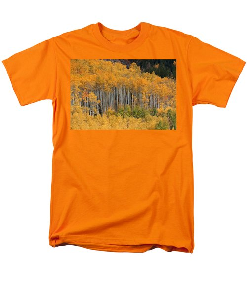 Men's T-Shirt  (Regular Fit) featuring the photograph Autumn Curtain by Jim Garrison