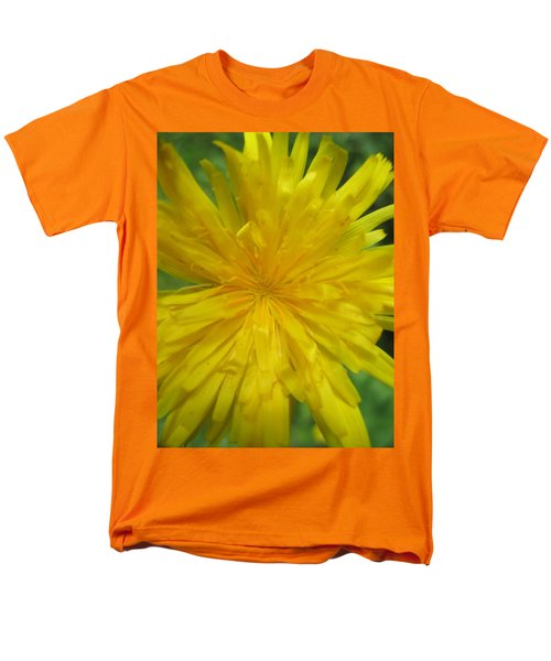 Men's T-Shirt  (Regular Fit) featuring the photograph Dandelion Close Up by Kym Backland