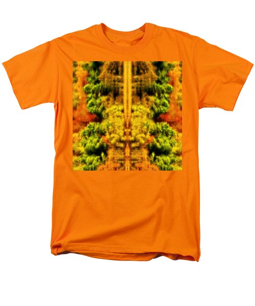 Men's T-Shirt  (Regular Fit) featuring the photograph Fall Abstract by Meirion Matthias