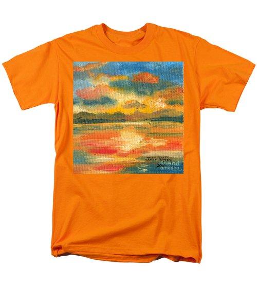 Fiery Sunset Men's T-Shirt  (Regular Fit) by Julie Brugh Riffey