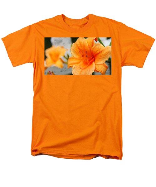 Men's T-Shirt  (Regular Fit) featuring the photograph Garden Lily by Davandra Cribbie