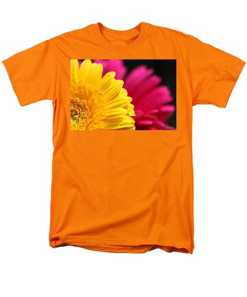 Gerbera Daisies Men's T-Shirt  (Regular Fit) by Diana Haronis