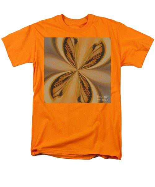 Golden Butterfly Men's T-Shirt  (Regular Fit) by Marsha Heiken
