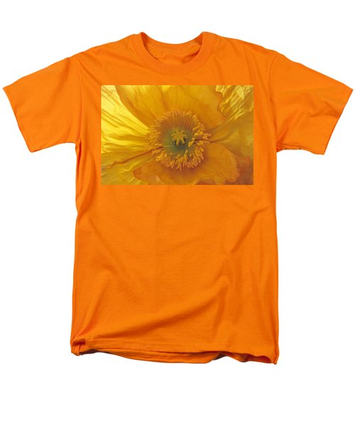 Men's T-Shirt  (Regular Fit) featuring the photograph Iceland Poppy 4 by Susan Rovira