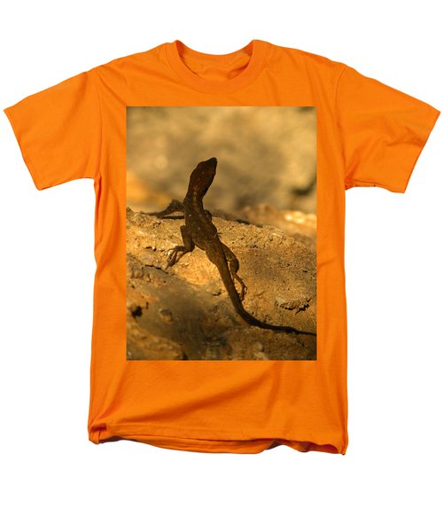 Leapin' Lizards Men's T-Shirt  (Regular Fit) by Trish Tritz