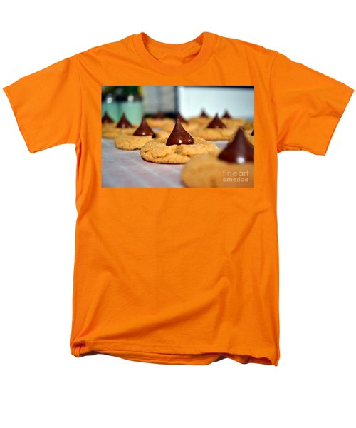 Peanut Blossoms Men's T-Shirt  (Regular Fit) by Bonnie Myszka
