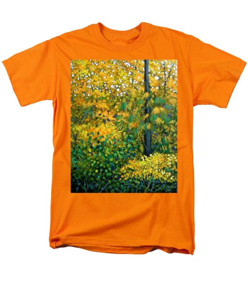 Southern Woods Men's T-Shirt  (Regular Fit) by Jeanette Jarmon