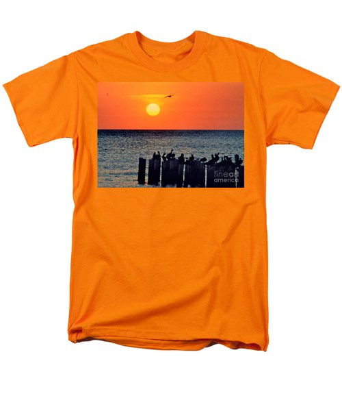 Men's T-Shirt  (Regular Fit) featuring the photograph Sunset In Florida by Lydia Holly