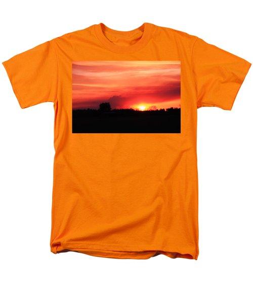 Men's T-Shirt  (Regular Fit) featuring the photograph Sunset by Johanna Bruwer