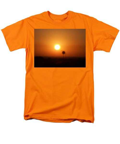 Texas Sunrise Men's T-Shirt  (Regular Fit) by Adam Cornelison