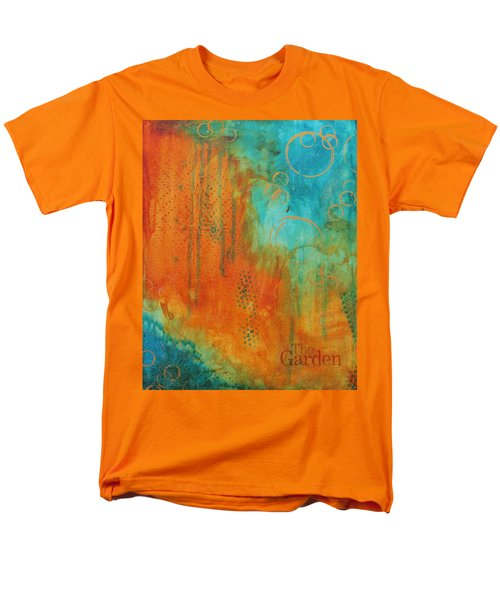 Men's T-Shirt  (Regular Fit) featuring the painting The Garden by Nicole Nadeau