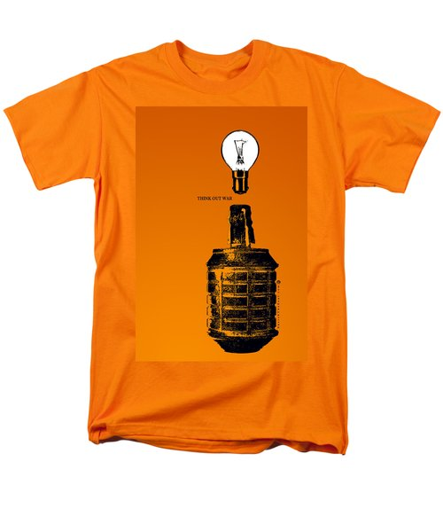 Think Out War Men's T-Shirt  (Regular Fit) by Tony Koehl