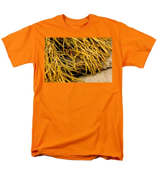 Men's T-Shirt  (Regular Fit) featuring the photograph Yellow Kelp by Brent L Ander