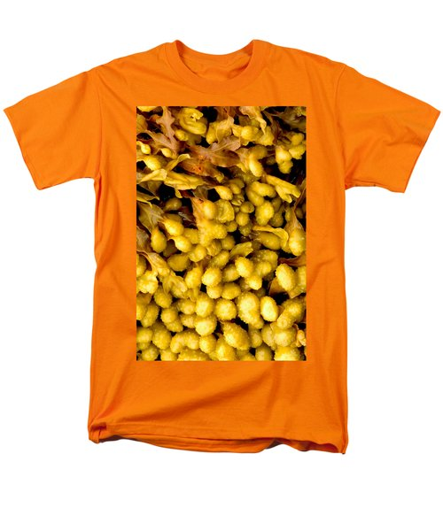 Men's T-Shirt  (Regular Fit) featuring the photograph Yellow Kelp Pods by Brent L Ander