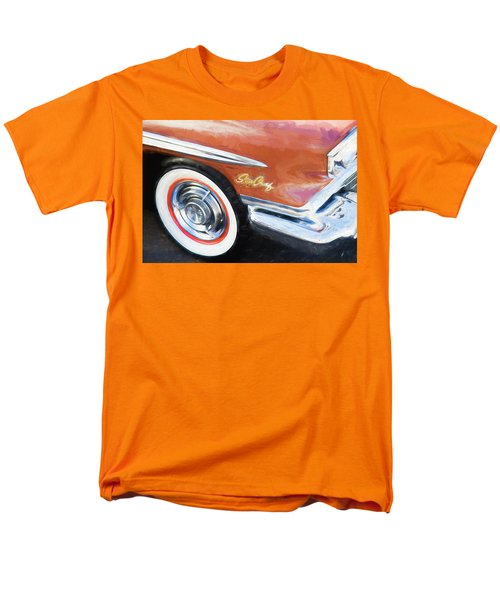 Men's T-Shirt  (Regular Fit) featuring the photograph 1958 Pontiac Star Chief  by Rich Franco