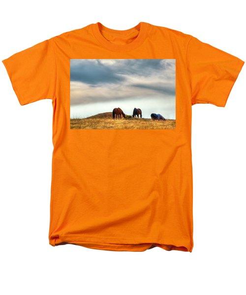 A Palouse Landscape Men's T-Shirt  (Regular Fit) by David Patterson