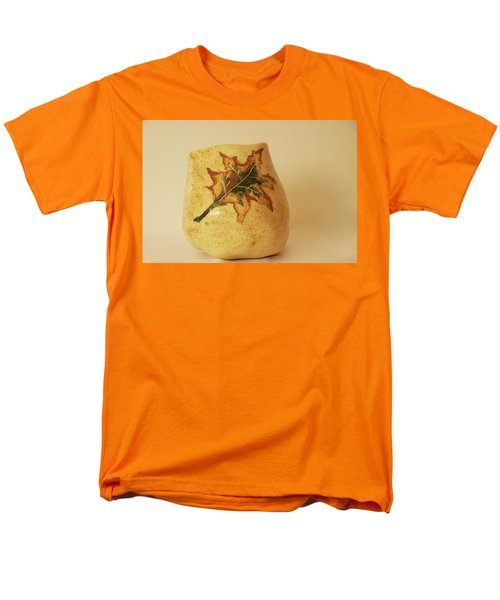 A Pot On A Leaf Men's T-Shirt  (Regular Fit) by Itzhak Richter