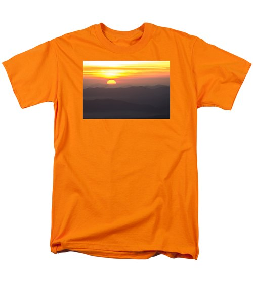 Men's T-Shirt  (Regular Fit) featuring the photograph Appalachian Sunrise by Serge Skiba