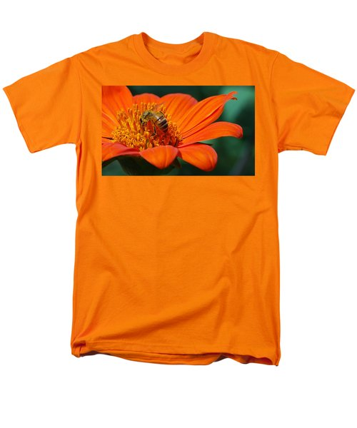 Men's T-Shirt  (Regular Fit) featuring the photograph Bee-utiful by Debbie Karnes