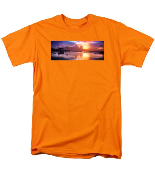 Crescent Beach September Morning Men's T-Shirt  (Regular Fit) by David Smith