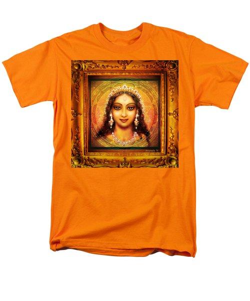 Durga In The Sri Yantra  Men's T-Shirt  (Regular Fit) by Ananda Vdovic