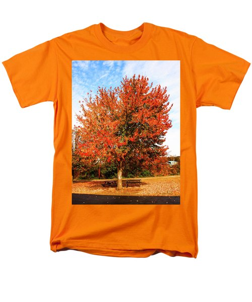 Men's T-Shirt  (Regular Fit) featuring the photograph Fall Time by Randy Sylvia